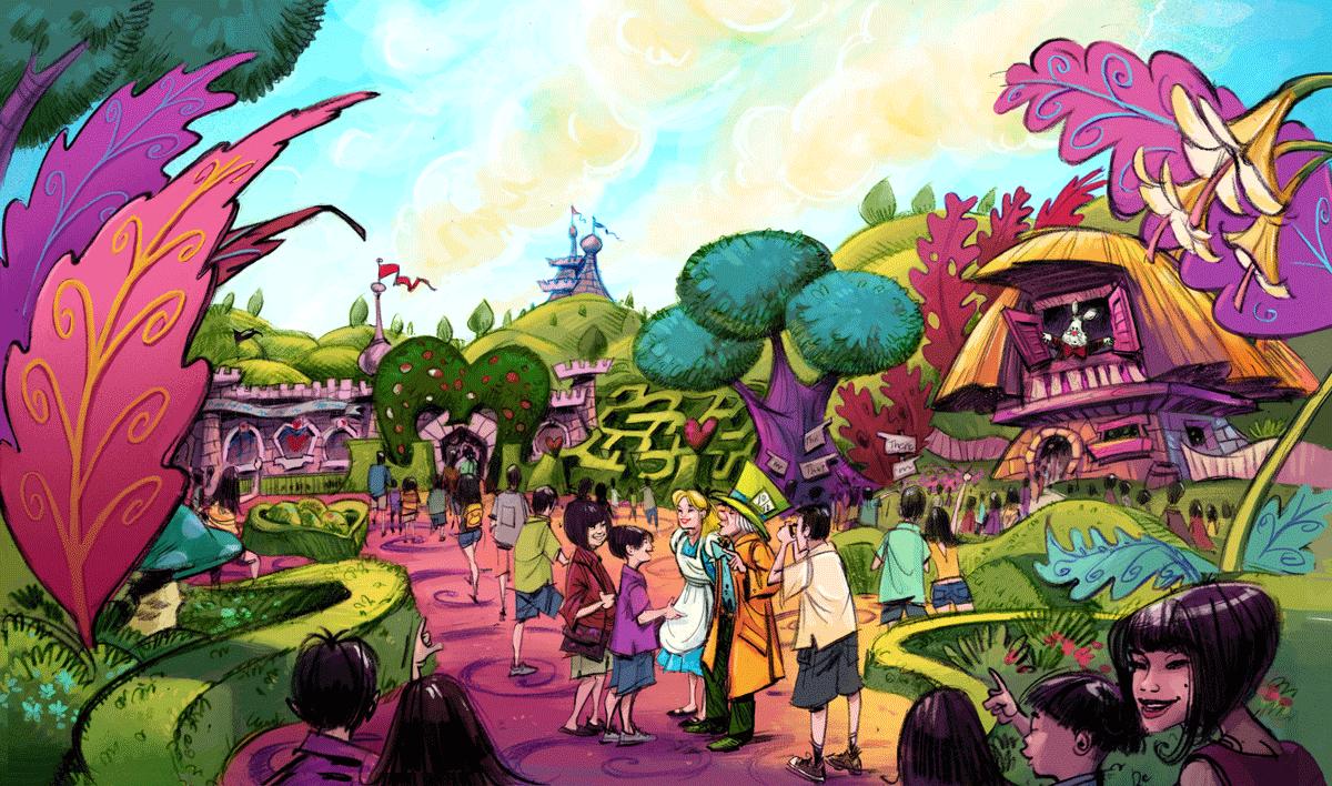 Disney Postで公開されたアート (c)Disney