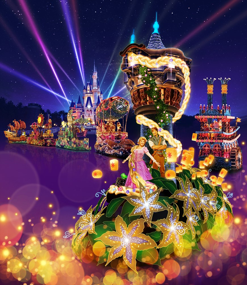 ラプンツェルのフロート(イメージ) (c)Disney
