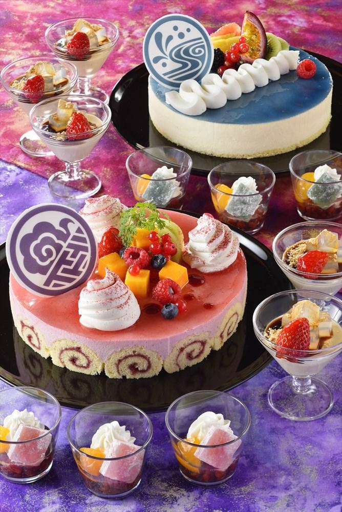 東京ディズニーランドホテル「シャーウッドガーデン・レストラン」ブッフェ(イメージ) (c)Disney
