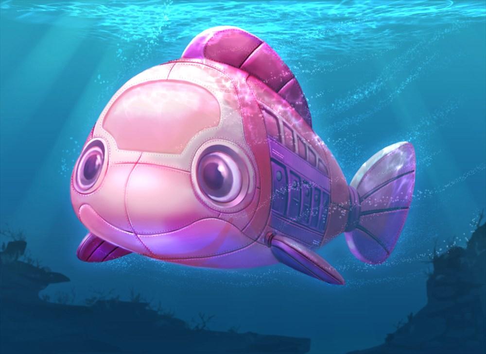 ストーリーに登場する潜水艦(イメージ)Artist concept only (C)Disney/Pixar