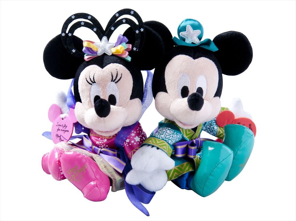 「ペアぬいぐるみ」 4500円 (c)Disney