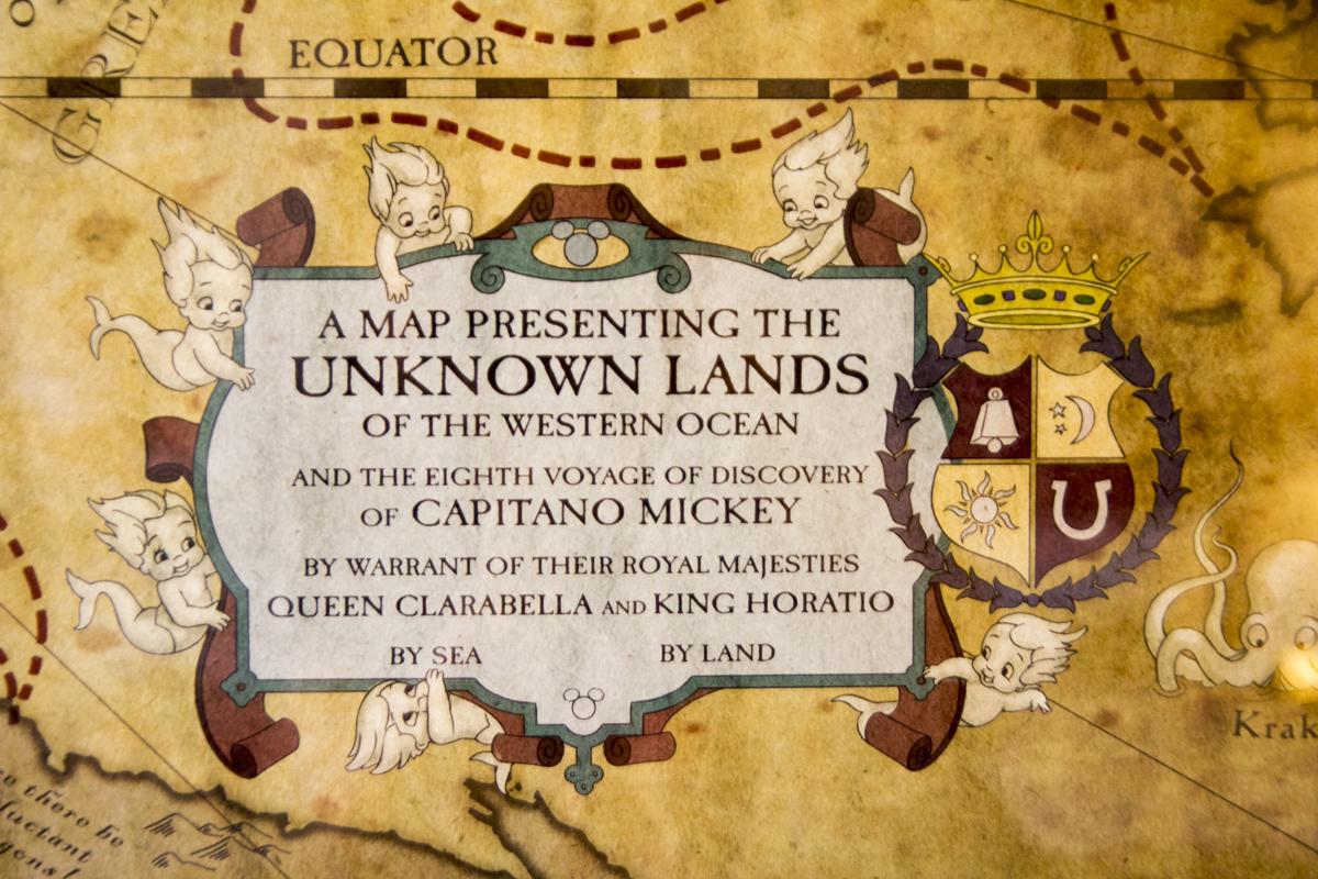カピターノ・ミッキーによる冒険で分かった世界の姿。