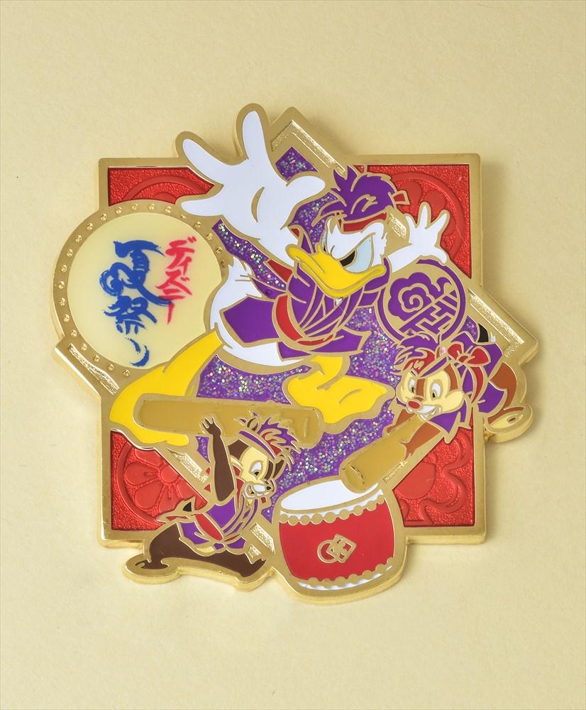 オリジナルピン(ドナルドダック、チップ&デール) (c)Disney