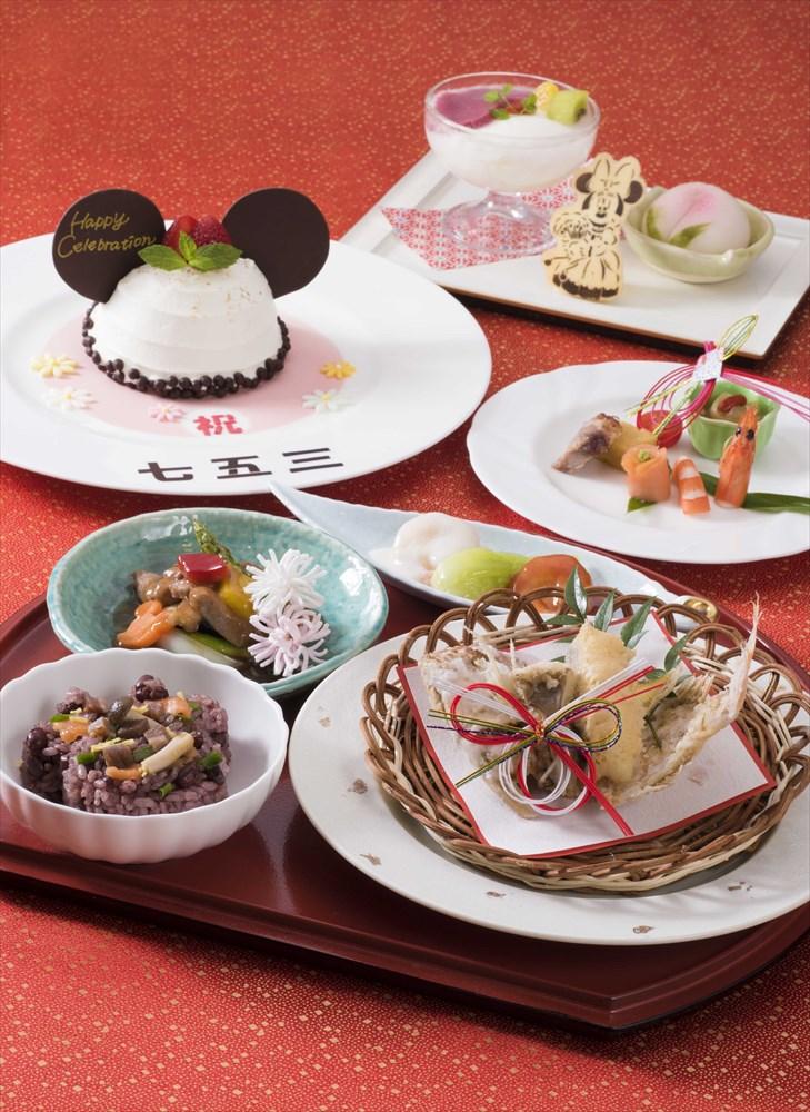 「シルクロードガーデン」七五三プラン (c)Disney