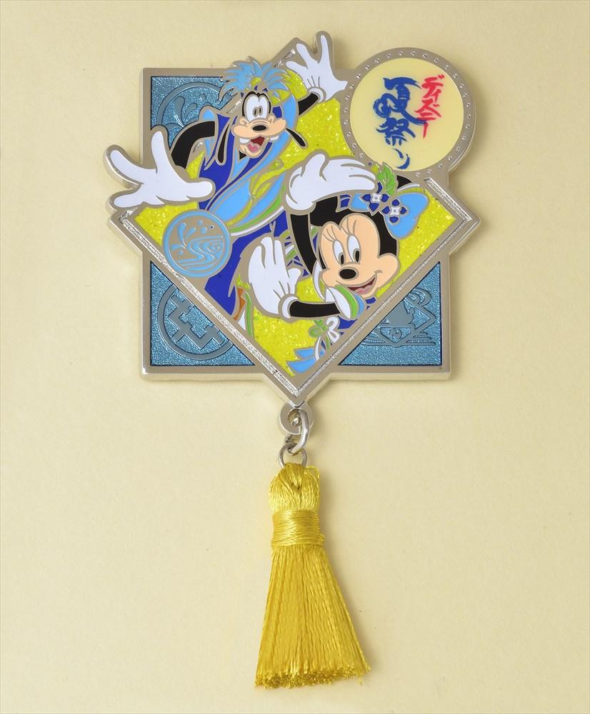 オリジナルピン(ミニーマウス、グーフィー) (c)Disney