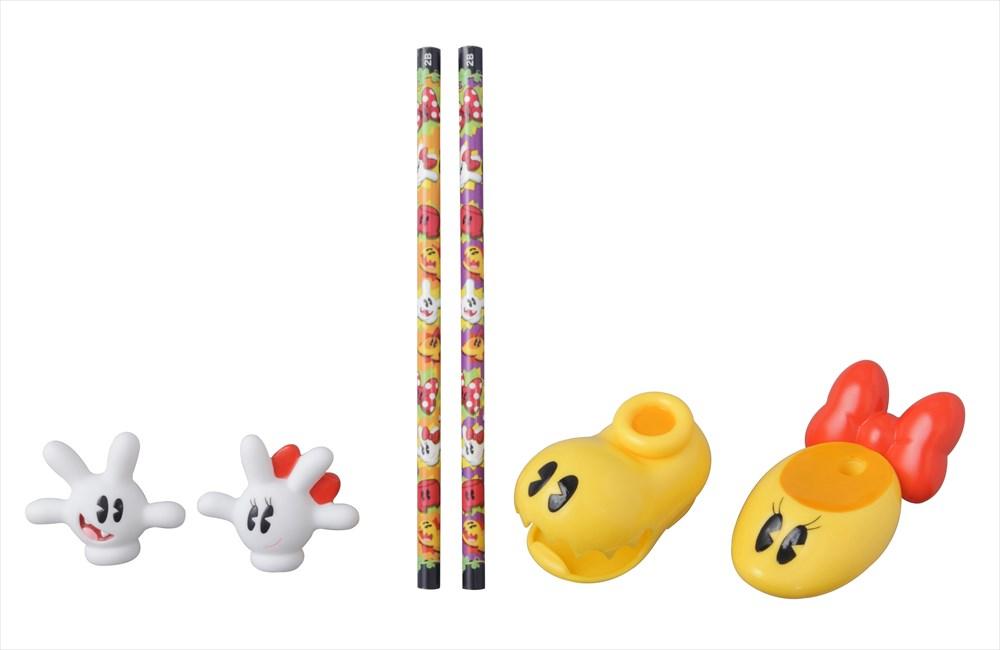 ステーショナリーセット(1200円) (c)Disney