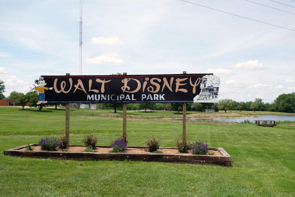 ミゼット・オートピアの跡地があるWalt Disney Municipal Park