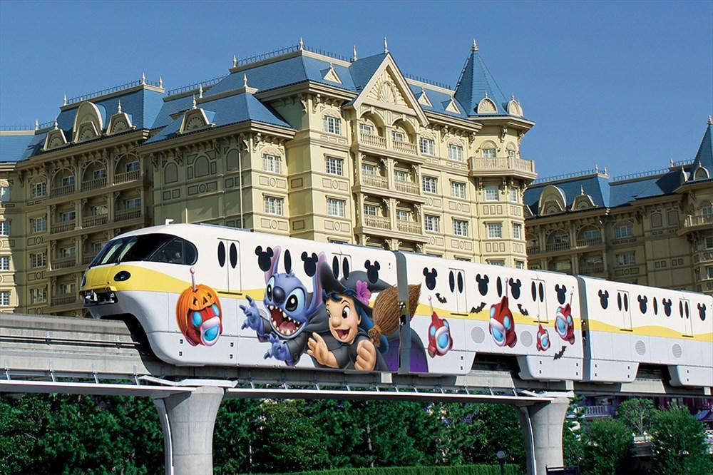 スティッチ・エンカウンター・ライナー(ハロウィーン外装) (c)Disney