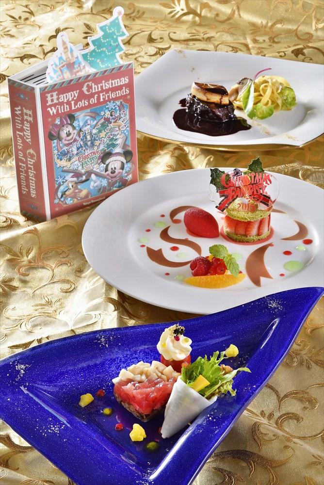 ディズニーアンバサダーホテル「エンパイア・グリル」エンパイアディナー (c)Disney
