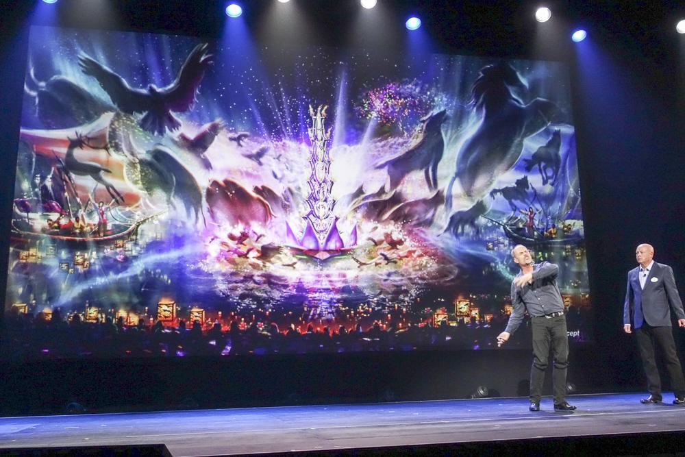 ディズニー・アニマルキングダムの夜を彩るショー「Rivers of Light」