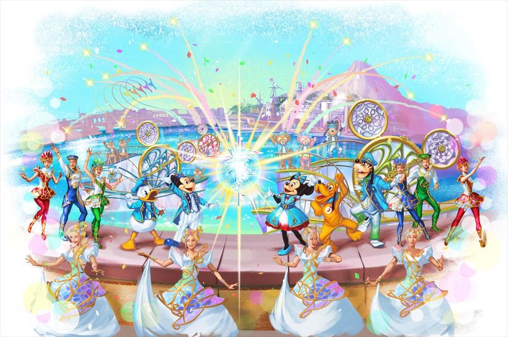 「クリスタル・ウィッシュ・ジャーニー」(イメージ) (c)Disney