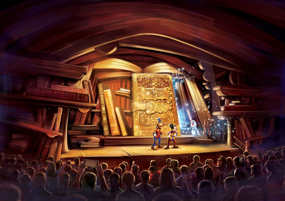 Mickey and the Wondrous Book - Opening Scene As to Disney artwork, logos and properties:©Disney