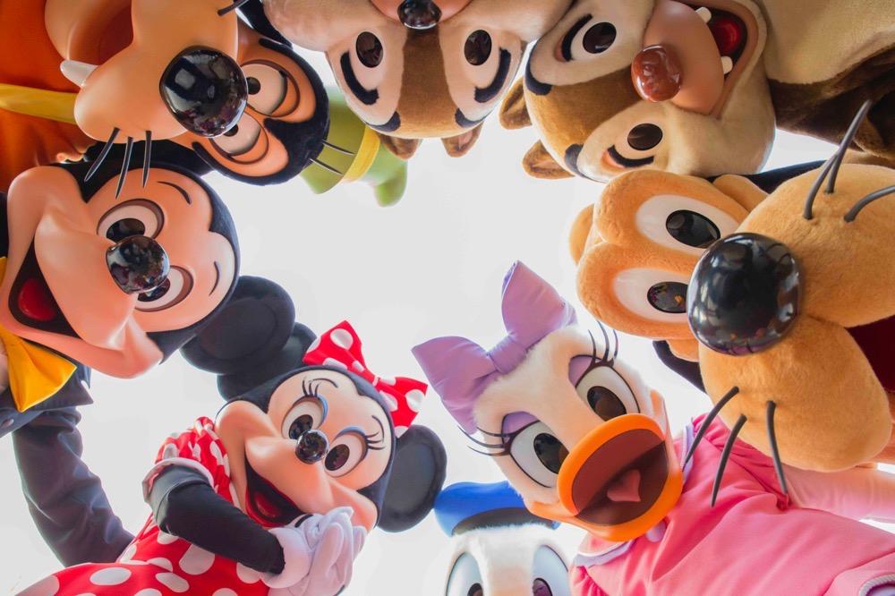 ハービー・山口氏の作品(一例) (c)Disney