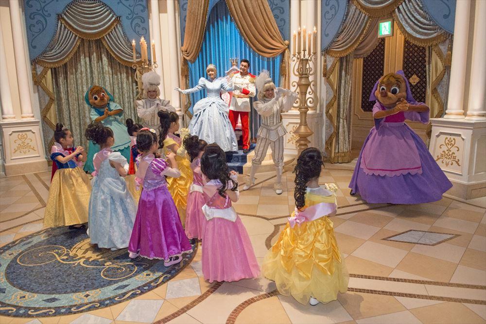 「シンデレラのプリンセス・ウェルカム」(イメージ) (c)Disney