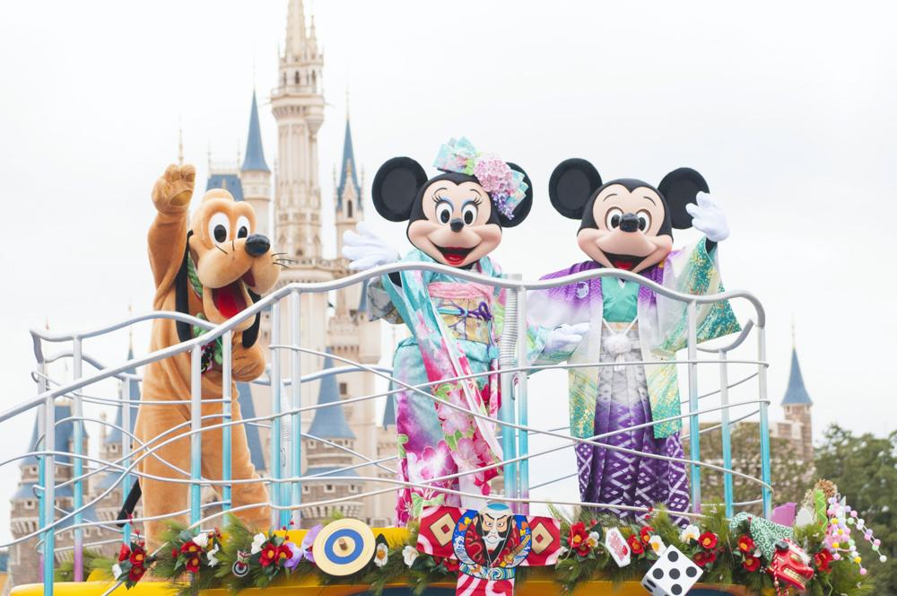 東京ディズニーランド 「ニューイヤーズ・グリーティング」(イメージ) (c)Disney
