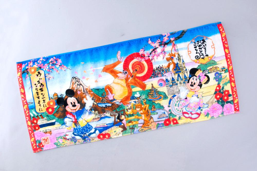 フェイスタオル 1400円 (c)Disney