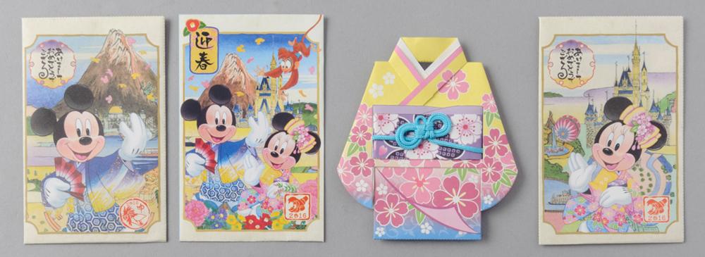 お年玉袋セット 500円 (c)Disney