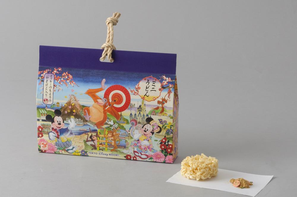 ミニうどん 850円 (c)Disney
