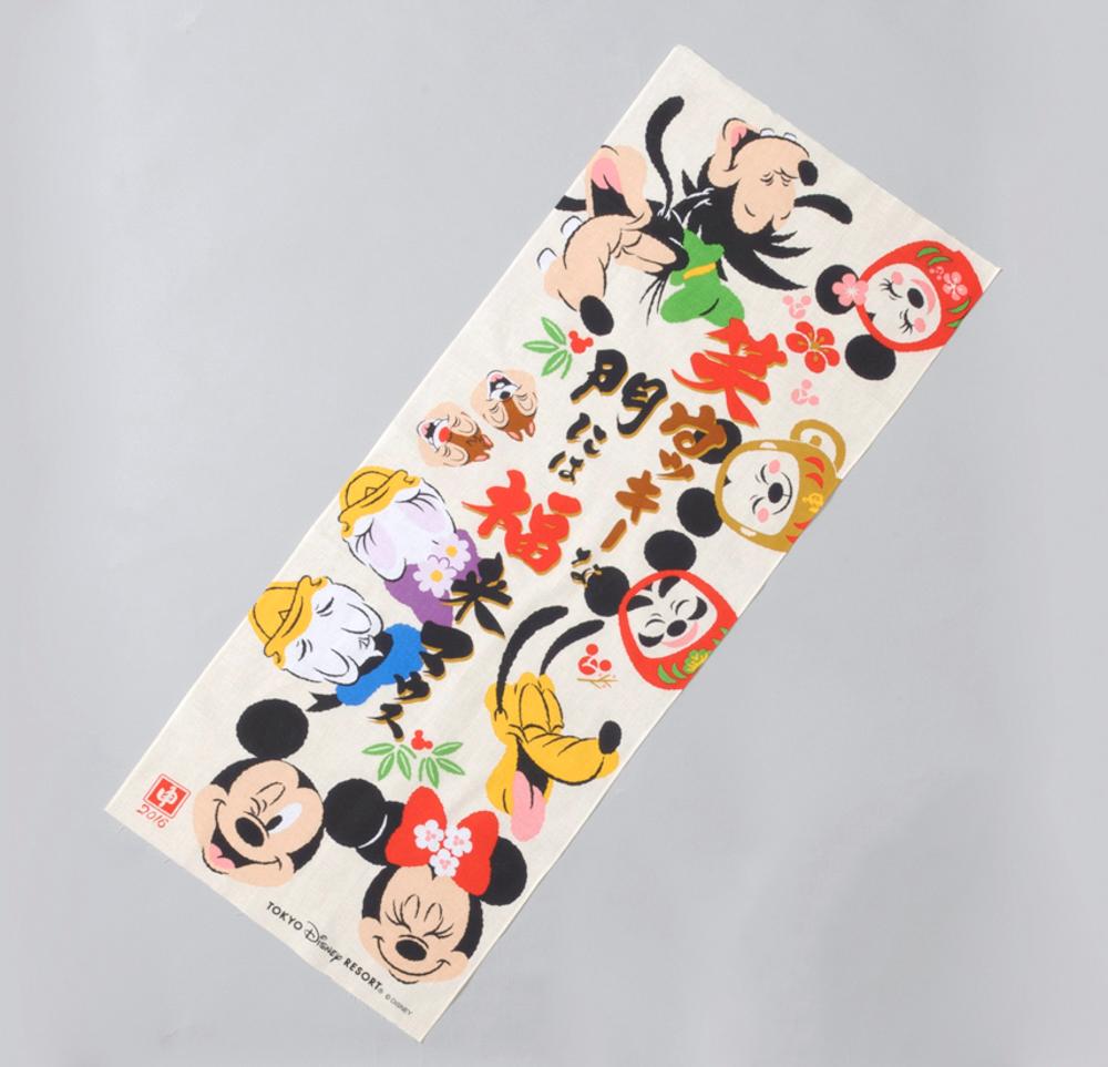 てぬぐい 1200円 (c)Disney