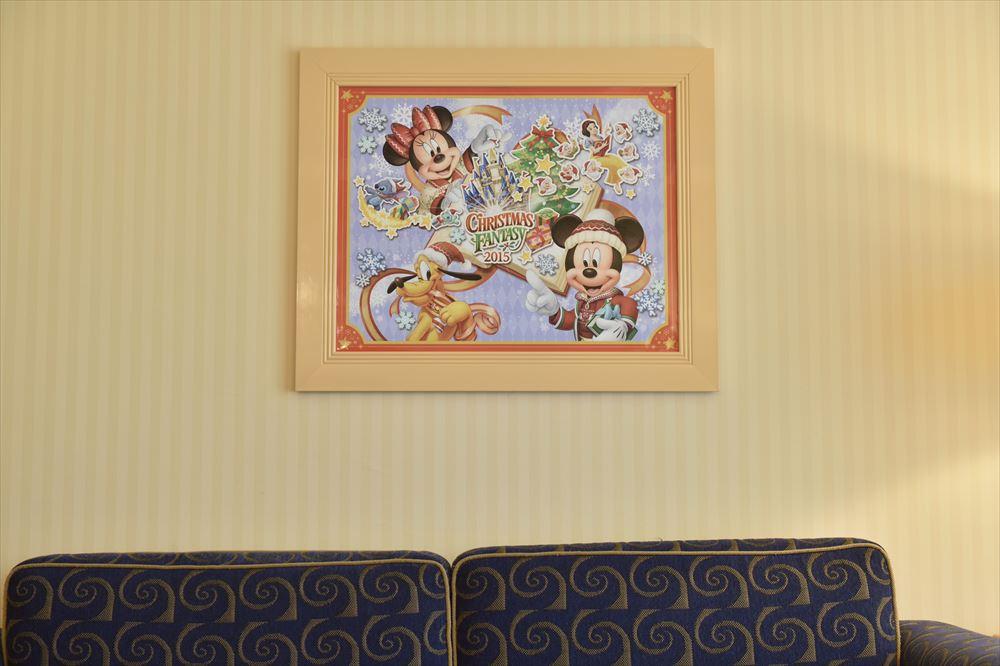 額装アートのイメージ (c)Disney