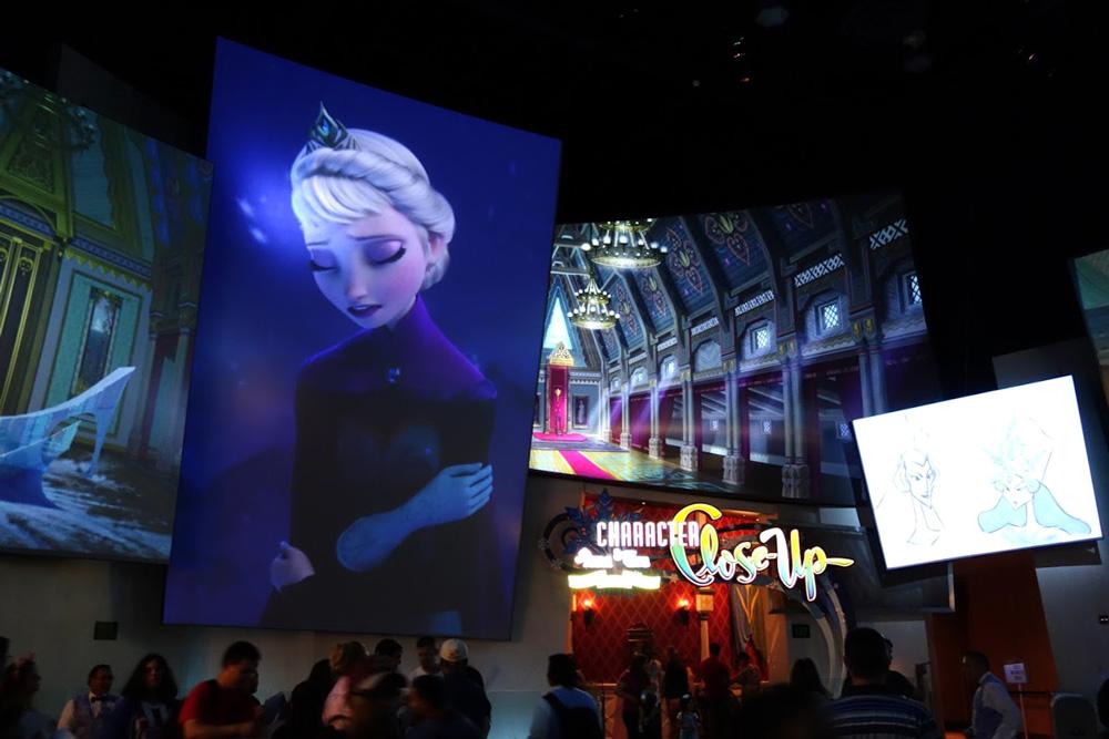 ここでもレリゴー:Animation AcademyのLet It Goもなかなか。曲は1番、映像は2番でシンクロさせてて超驚いた。