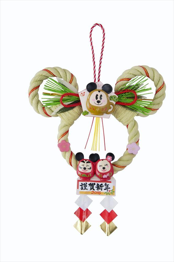 しめ飾り 2900円 (c)Disney