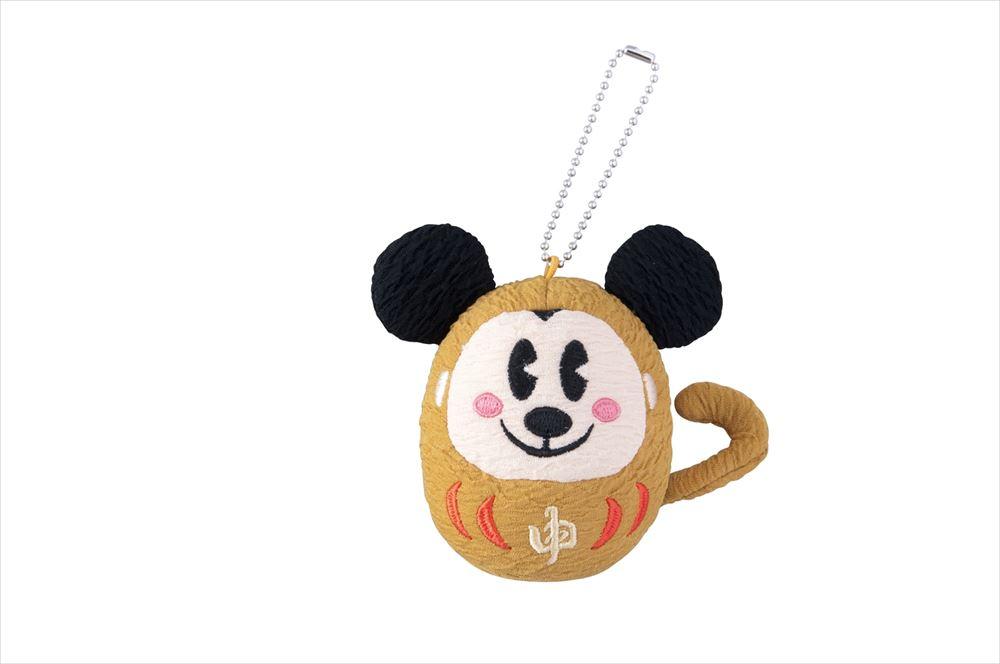 ぬいぐるみバッジ 1300円 (c)Disney