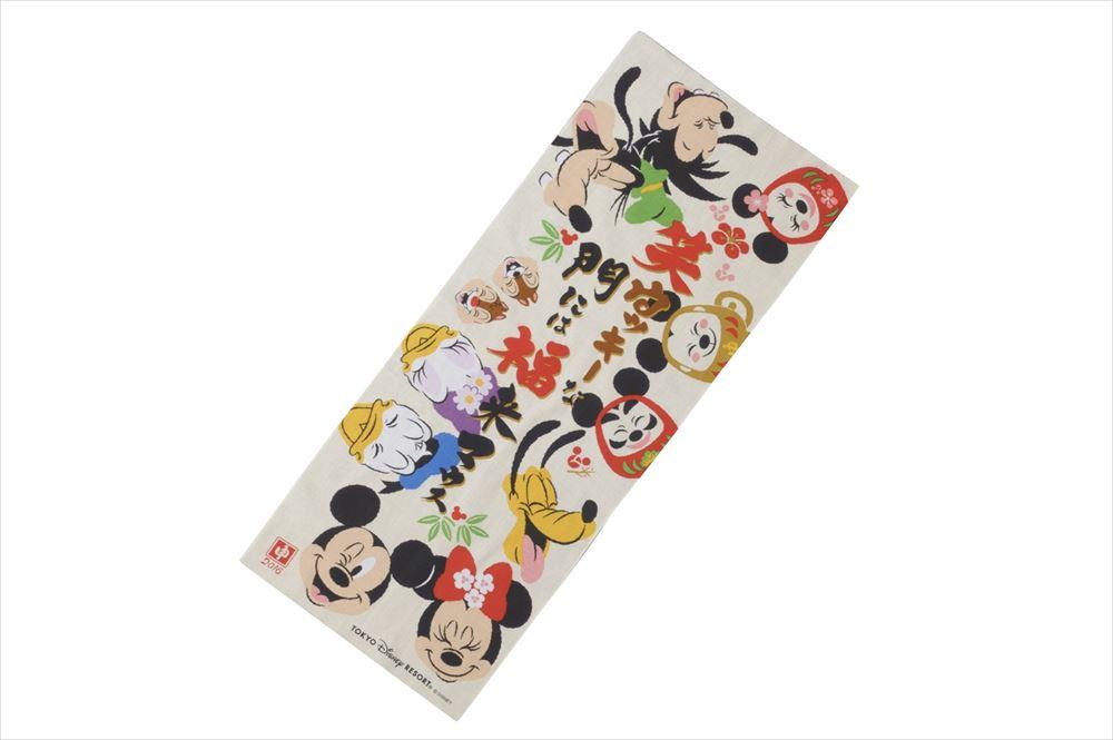 手ぬぐい 1200円 (c)Disney