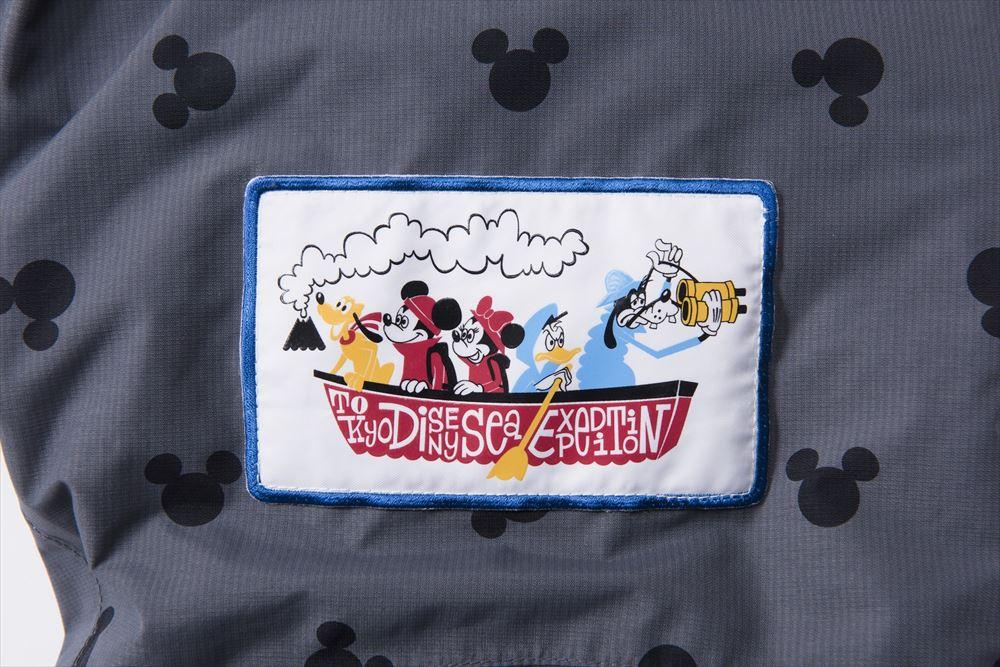オリジナルデザインのワッペン (c)Disney