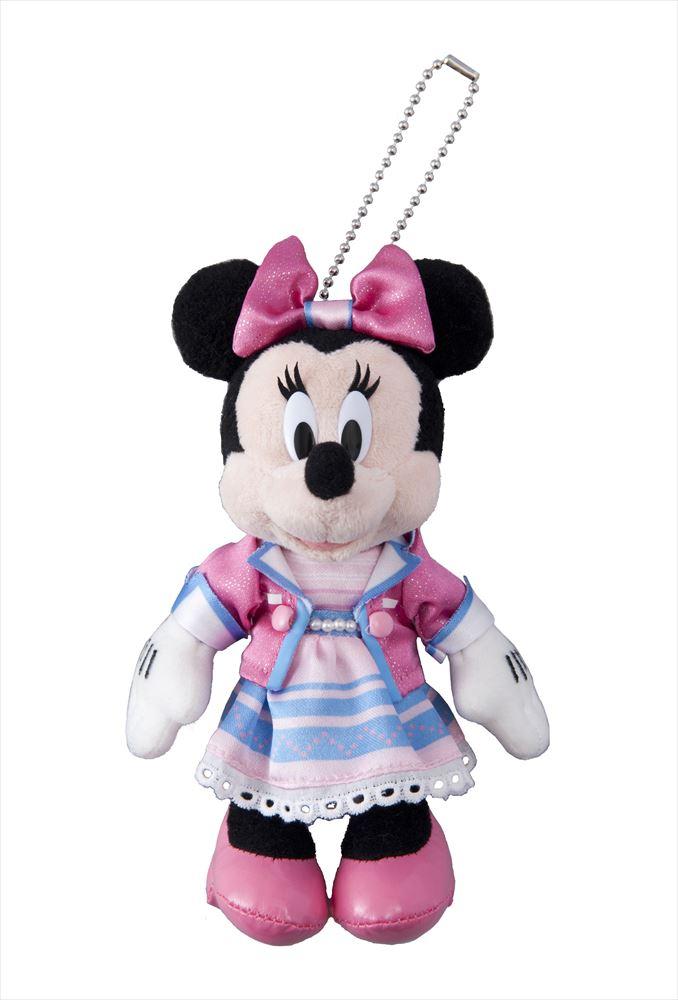 「カムジョイン・ユア・フレンズ」 ぬいぐるみバッジ 1700円 (c)Disney