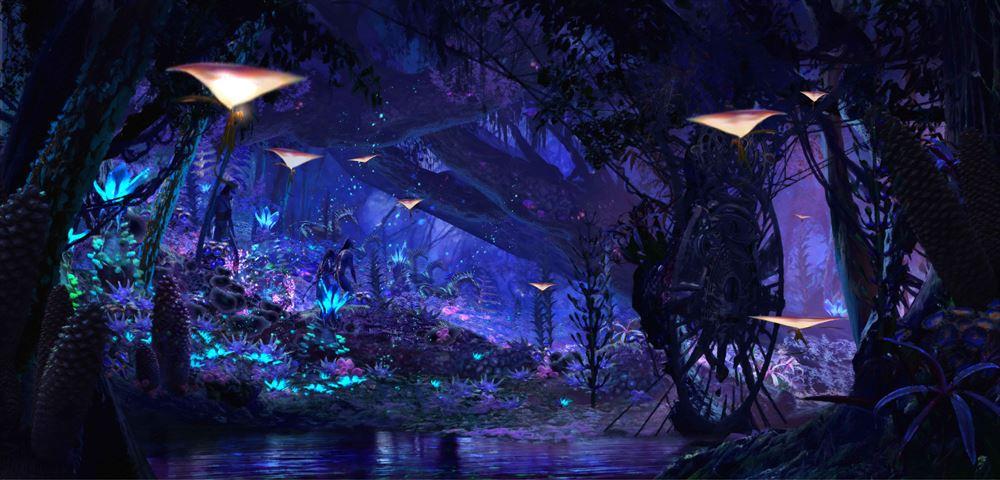 Na'vi River Journey イメージアート (c)Disney