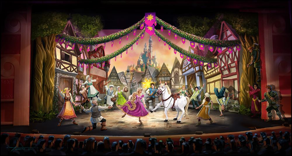 "In November 2015, ""Tangled: The Musical"" will premiere aboard the Disney Magic (c)Disney"