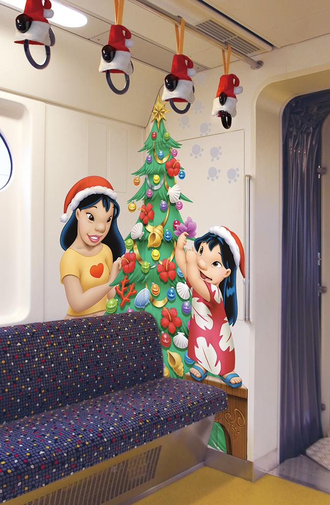 車内(イメージ) (c)Disney