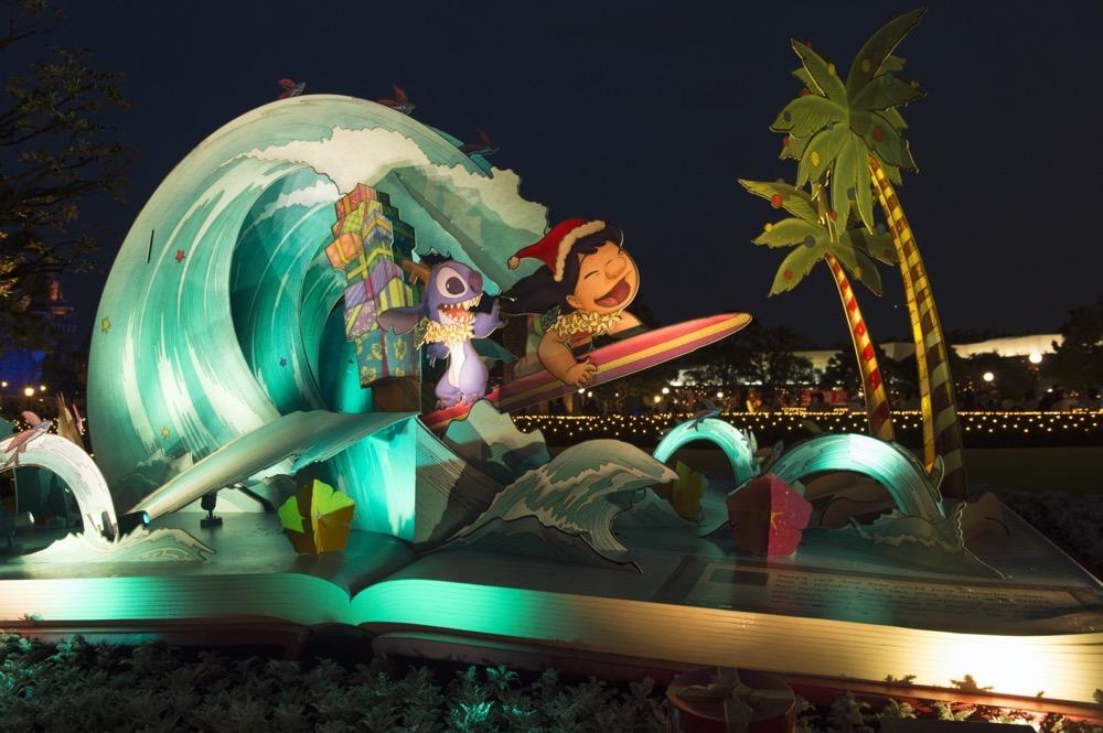 東京ディズニーランド「クリスマス・ファンタジー」  (c)Disney