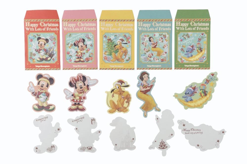 メッセージカード&マスキングテープ(中身) 800円 (c)Disney