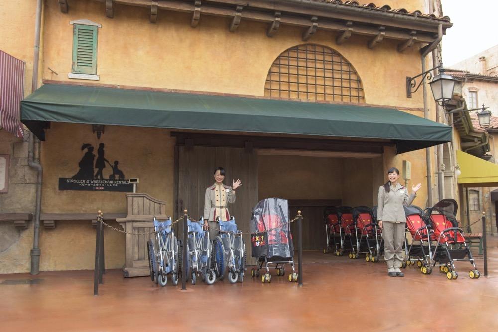 ベビーカーレンタル (c)Disney