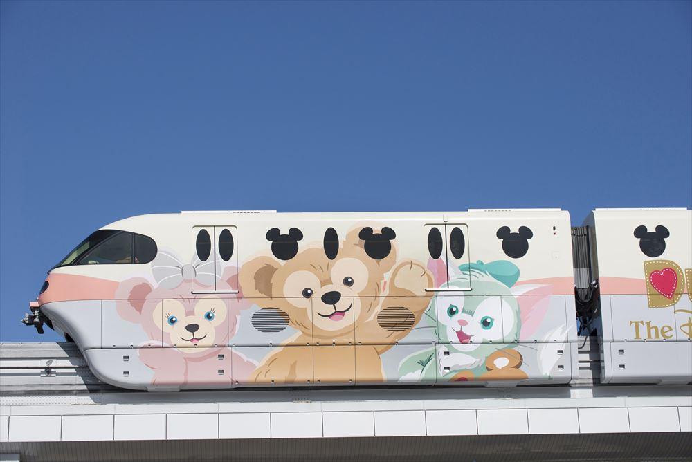 「ダッフィー&フレンズ・ライナー」外観 (c)Disney