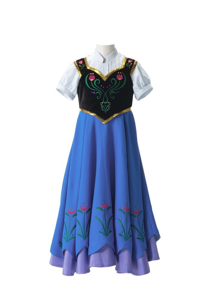 「アナ」のドレス 1万6200円(100~120cm) (c)Disney