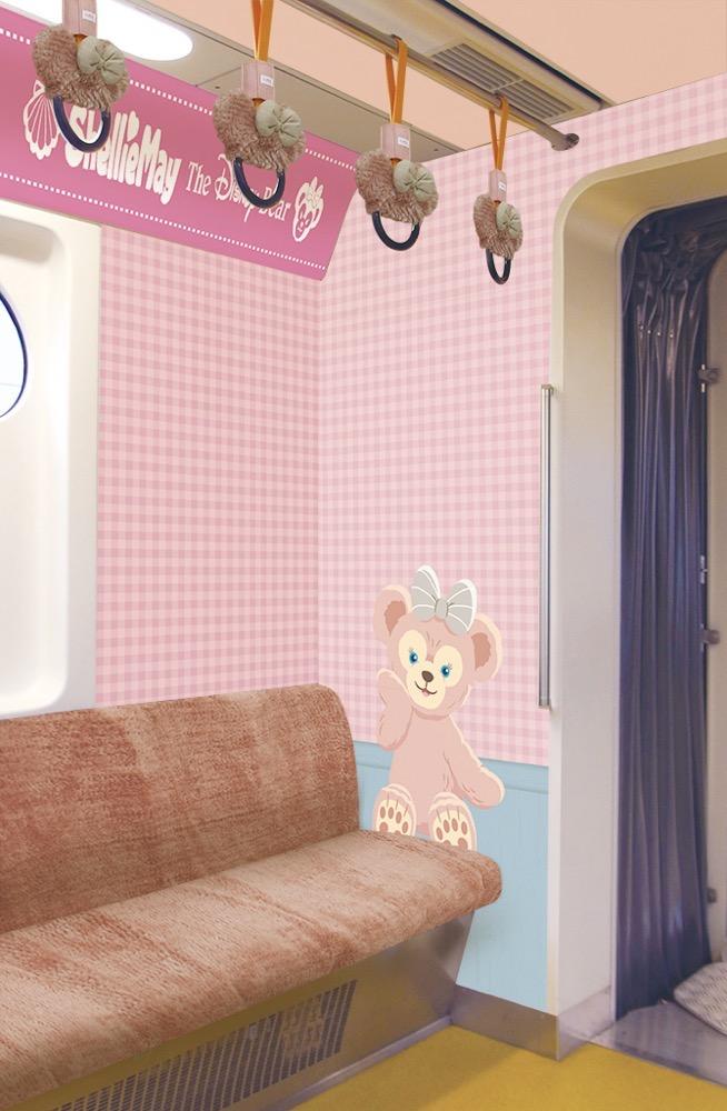 ダッフィー&フレンズ・ライナー 内装(イメージ) (c)Disney
