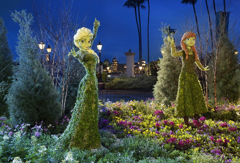 Epcot International Flower & Garden Festival(2016年3月2日~5月30日) (As to Disney artwork, logos and properties:©Disney)