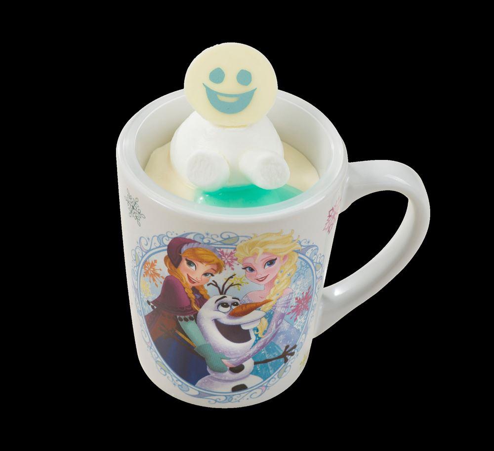 オレンジ風味のミルクムース スーベニアカップ付き(720円) (c)Disney