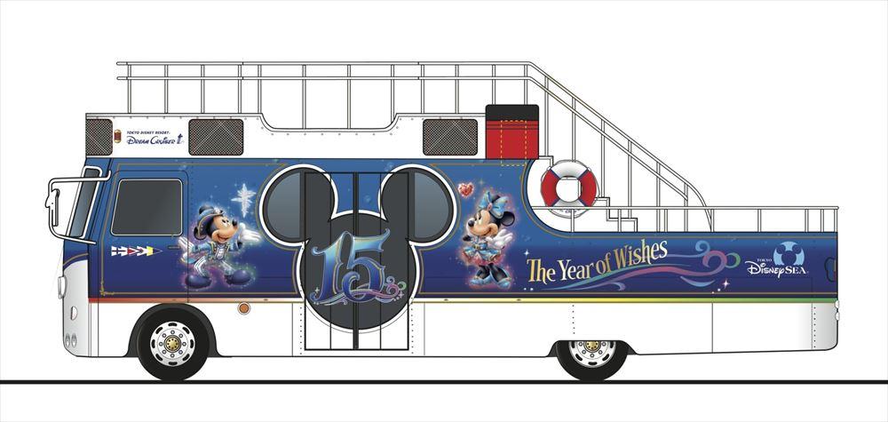 初登場の「ドリームクルーザーIII」(イメージ) (c)Disney