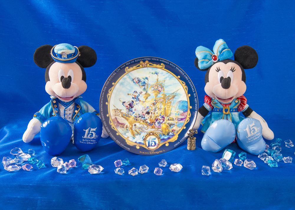 ぬいぐるみ 各5000円/プレート 5500円/シンブル 2900円 ※写真はイメージです (c)Disney