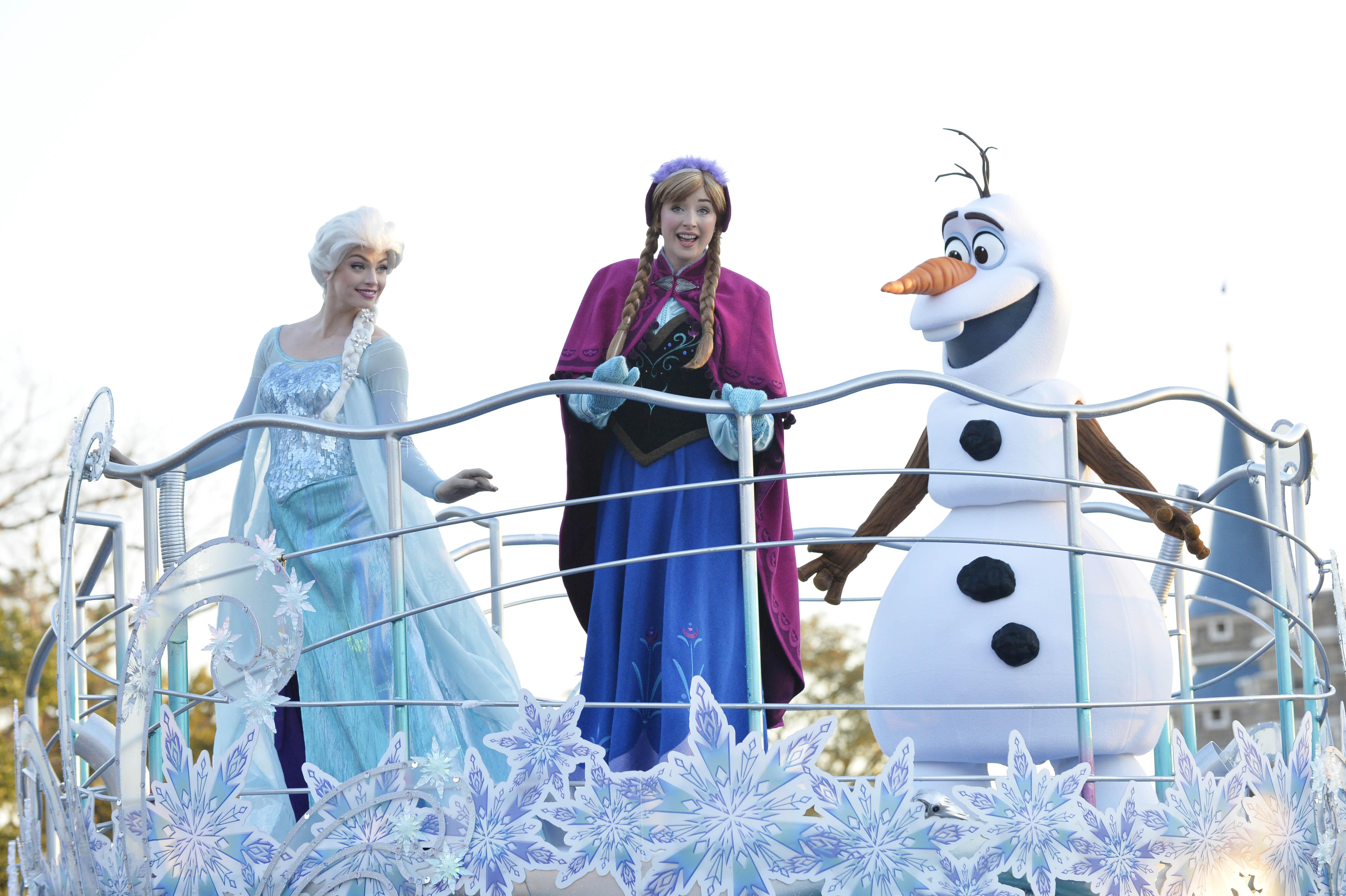 アナとエルサのフローズンファンタジー(イメージ) (c)Disney