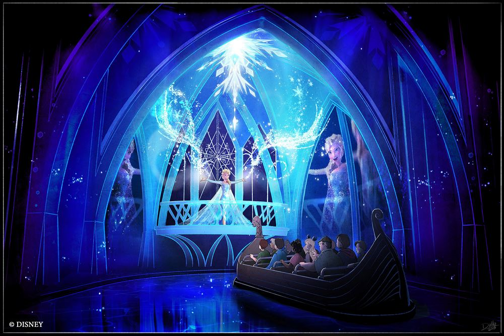 Frozen Ever After(2016年初夏登場予定) (As to Disney artwork, logos and properties:©Disney)
