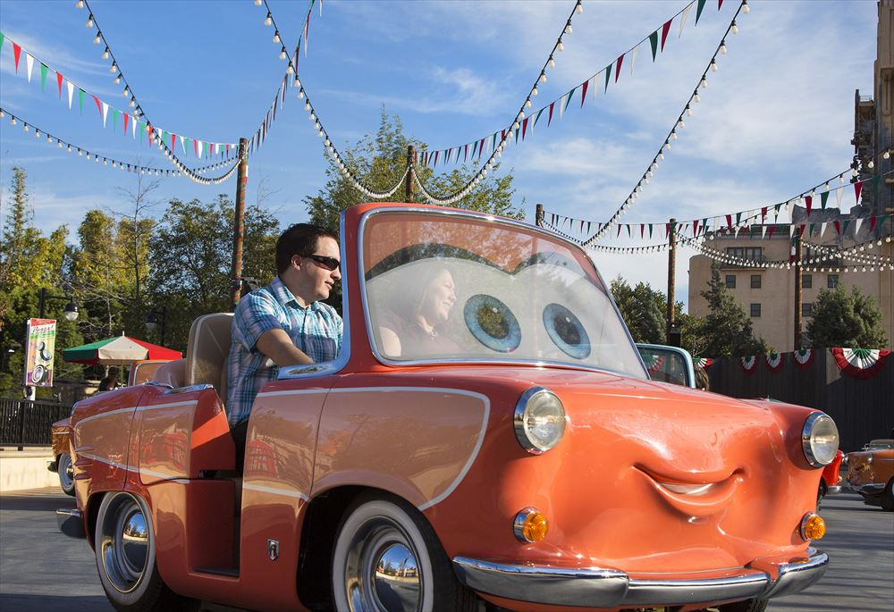 Luigi's Rollickin' Roadsters (c)Disney