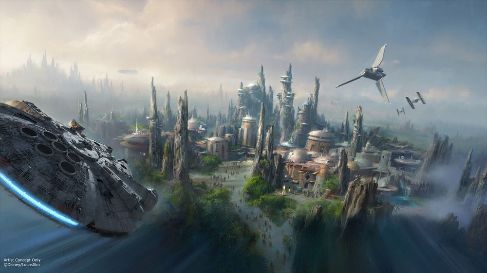 Star Wars-Themed Land Artist Concept (c)Disney/Lucasfilm