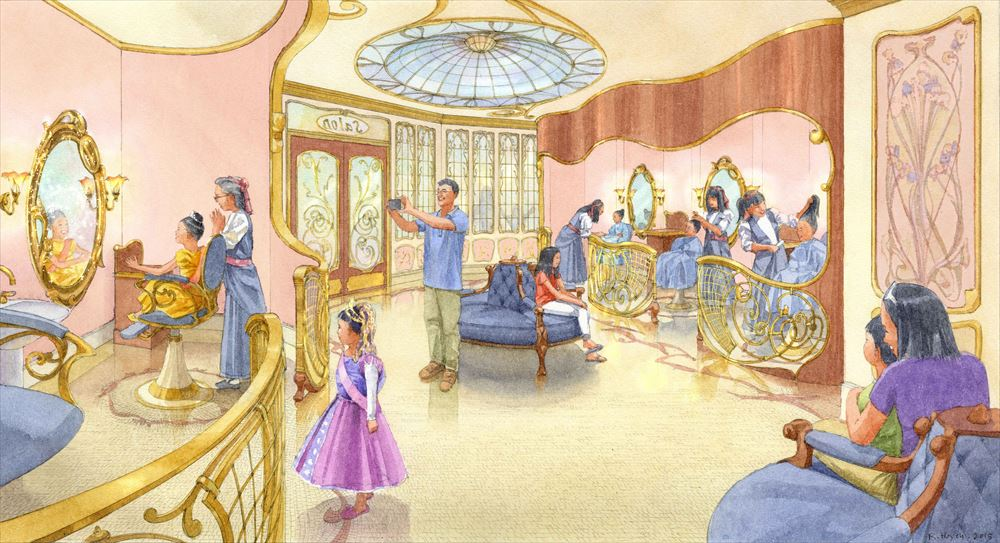 店内装飾イメージ (c)Disney