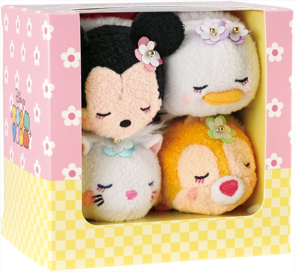 「TSUM TSUM 京都限定セット」(2,500円(税抜)) (c)Disney