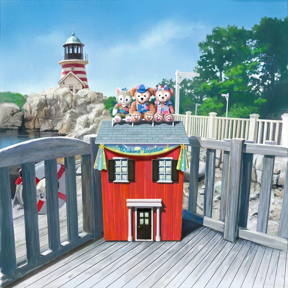 ケープコッド内のフォトポイント(イメージ) (c)Disney